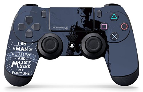 Controller Gear Uncharted 4 Fortune Seeker - PS4 Controller Skin - Officially Licensed - PlayStation 4