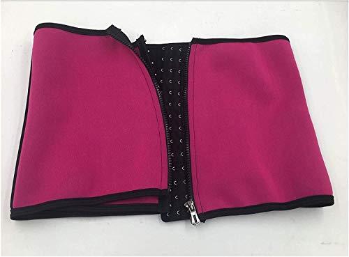 MVNZXL Cinturón recortador de Cintura, Entrenador de Cintura para Mujer, Cinturón Adelgazante con Banda para el Sudor, Cinturón de Soporte para corsé Lumbar Deportivo