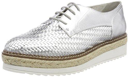 Tamaris Damen 23750 Sneaker, Silber (Silver), 39 EU