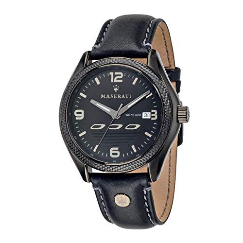 Reloj para Hombre, Colección SORPASSO, en Acero, Cuero - R8851124001