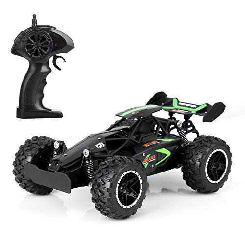 Blexy RC Cars Water-Resistant High Speed Remote Control Car 2.4GHz 2WD RC Truck 1/18 Remote Control Racing Toy Vehicle Fast Hobby Car 3063 Black
