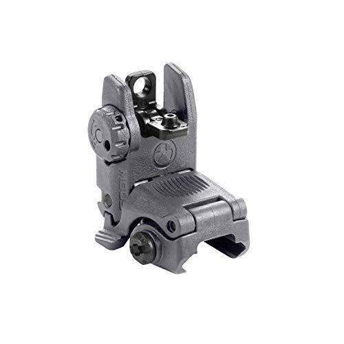 Magpul Flip-Up Backup Sights, Gray, Rear Sight