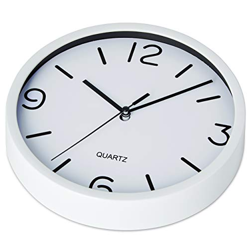 Bernhard Products White Wall Clock 8