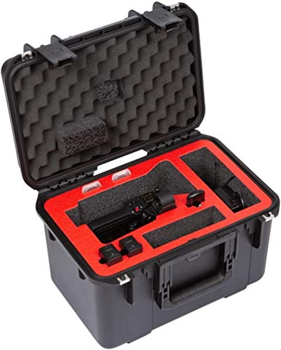 SKB Cases 3i-1610-10XF iSeries Canon XF405 / XF400 Camcorder Case, Ultra High-Strength Polypropylene Copolymer Resin Construction, Patented Trigger Latches, Rubber Over-Molded Cushion Grip Handle
