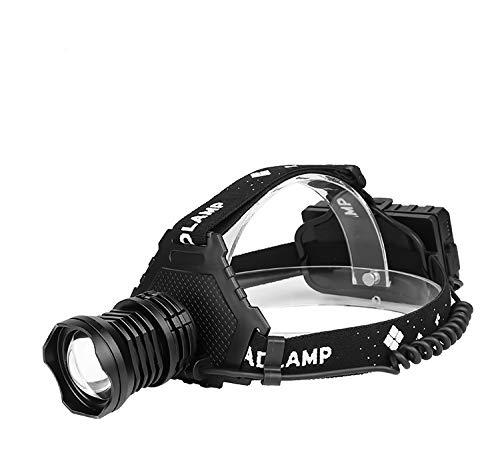 Linterna frontal 8000 lm más potente USB recargable linterna frontal LED super brillante de caza camping pesca linterna