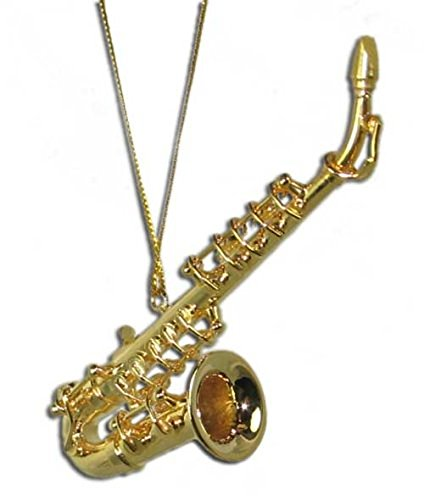 Miniature Sax Christmas Ornament