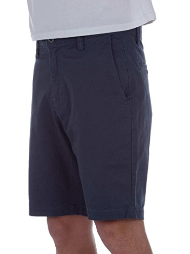 Volcom Frickin Slim Short Homme, Airforce Blue, FR 40 (Taille Fabricant : 30)