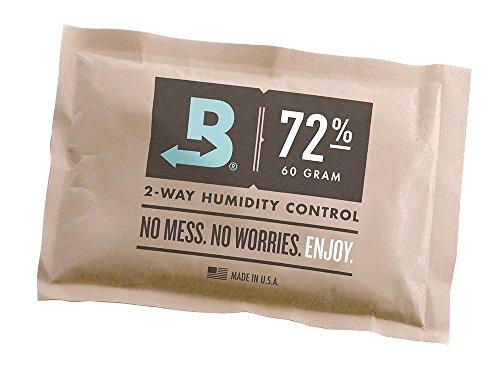 Boveda Prodotto per il controllo dell'umidità, 72% RH, confezionato individualmente, grande, 60 g