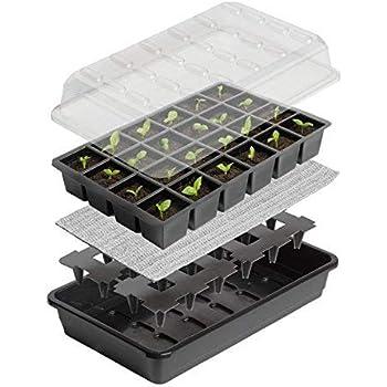 Britten & James® Kit de démarrage de semences Sure Start. Démarrez parfaitement 24 plantes avec ce système de propagation de semences auto-arrosage fiable.