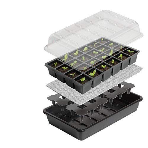 Kit di avvio seme di partenza Britten & James. Ottieni 24 piante alla perfezione con questo affidabile sistema di propagazione dei semi autofecondante.