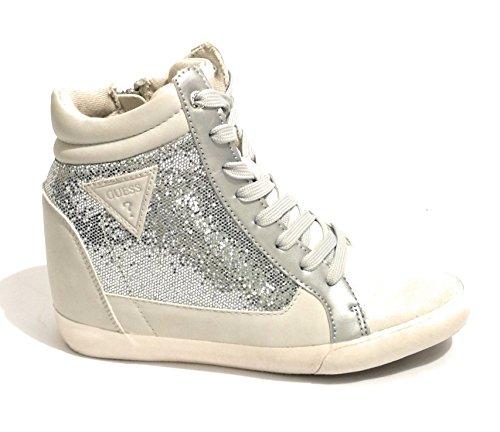 Guess Damen Footwear Active Lady Sneaker, Silber (Argent Silve), 38 EU