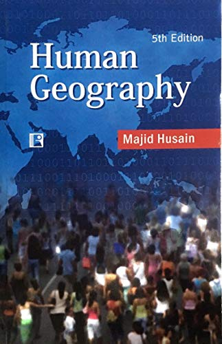 HUMAN GEOGRAPHY Paperback Latest Edition 2020-2021