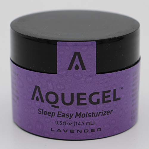 Aquegel Sleep Easy Moisturizer with LAVENDER Nighttime Relief of Nasal Dryness, Cracking, Nose Bleeds, CPAP Oxygen Users