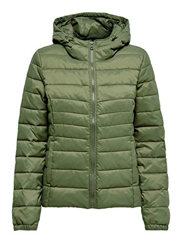 ONLY Damen Onltahoe Hood Jacket Otw Noos Jacke, Braun (Kalamata), Medium