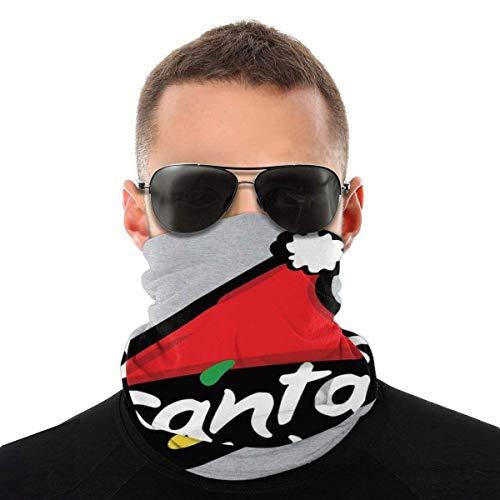 Night-Shop Santa Claus Pizza Hut Logo Weihnachten Vielfalt Kopftuch Gesichtsschutz Magic Headwear Neck Gaiter Gesicht Bandana Schal