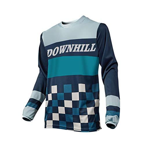 Uglyfrog 2018 Downhill Trikot Lange Ärmel Herren Mountainbike Freeride BMX Fahrradtrikot Motocross MTB/Downhill Bekleidung