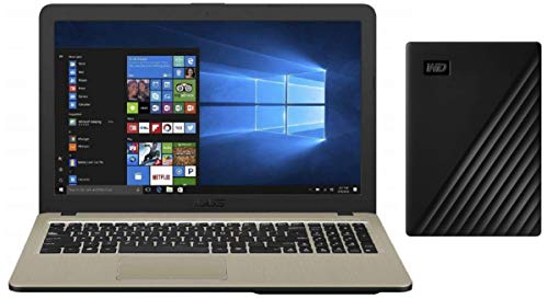 ASUS VivoBooK Intel Celeron N4000 15.6-inch Laptop (4GB/500GB HDD/Windows 10/Chocolate...