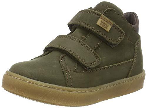 Bisgaard Jungen Dries Sneaker, Grün (Army 1007), 27 EU