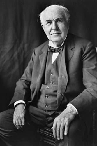 Thomas Alva Edison - achieve your goals, perfect 120 lined pages #1 (Thomas Edison Notebooks)