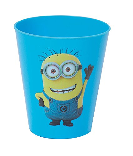 Fun House - 005155 - LES MINIONS / MOI MOCHE ET MÉCHANT Lot de 2 verres 250 ml pour enfant