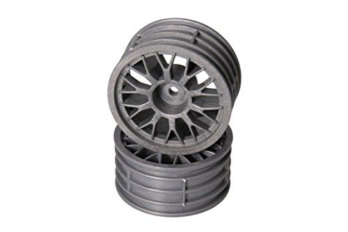 Arkai Llanta de radios para todos los coches 1:10, 2 unidades, también compatible con nuestros neumáticos Slicks y perfilados.