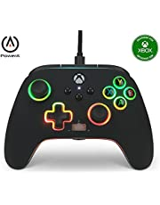 A Power Spectra Infinity Enhanced Wired Controller For Xbox Series X S, Gamepad, Wired Video Game Controller, Gaming Controller, Xbox One, Officially Licensed (Xbox Series X)