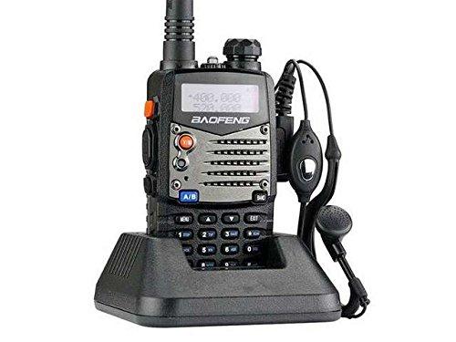 Baofeng UV-5RA - Walkie Talkie 5W FM Radio VHF con banda dual de doble frecuencia UHF DTMF VOX
