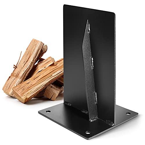 ZapaEsti Firewood Kindling Splitter,Kindling Cracker,Kindling Wood Splitter,Sturdy Manual Log Splitter Wedge,Simple and Safe Splitting Tool