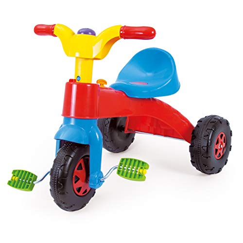 Dolu kinderen peuters mijn eerste pedaalfiets, motorfiets, driewieler scooter rijden.