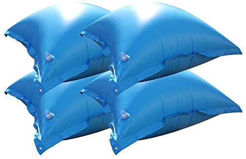 well2wellness Pool Luftkissen für Winterabdeckplanen im 4er Set - mit neuem Ventil + 4 Ösen