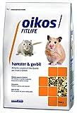 Oikos Hamster e Gerbil Alimento Completo per Criceti e Gerbilli - Confezione da 600 gr