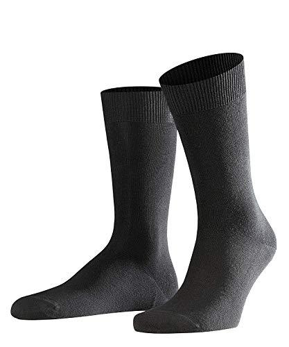 FALKE Herren Socken Swing 2-Pack, Baumwollmischung, 2 Paar, Schwarz (Black 3000), Größe: 43-46