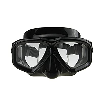 Fakeface Adult Recreation Silicone Waterproof Non Leaking Wide Clear Vision Anti Scratch Swim Goggles for Men Women,Watertight Swimming Glasses Diving Safety Mask for Water Swimming Diving Outdoor Racing Sports