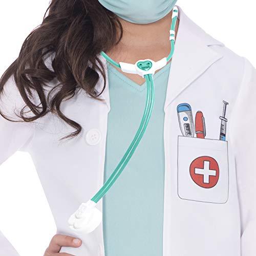 Amscan 9907238 Child Doctor's Scrubs Costume (3-4 Years), Unisex Children, Multi-Coloured