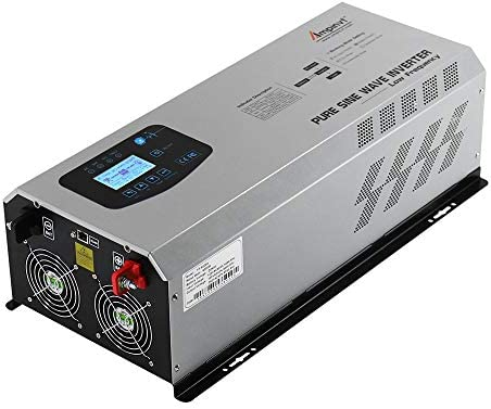 AMPINVT 6000W Peak 18000W Pure Sine Wave Power Inverter Charger DC 24V to 120V 240V AC Output product image