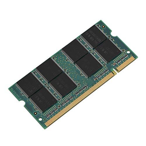 Kafuty 200Pin DDR1 1 GB 400 MHz PC3200-Speicher-RAM, hochwertige Mini-Modulplatine Geeignet für Laptops, integrierter hochwertiger Chip, langlebig und tragbar.