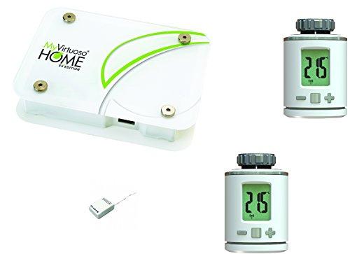 Kit de domotica para la gestión de la temperatura a zonas myvirtuoso Home