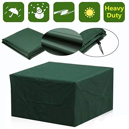 XiaoOu Garden Patio Table Protective Outdoor Cover Waterproof Sofa Cubes Snow Rain Proof Easy Use Oxford Cloth Chair Furniture,1