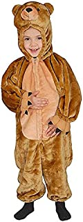 Dress Up America Kids Sweet Cuddly Little Brown Bear Costume