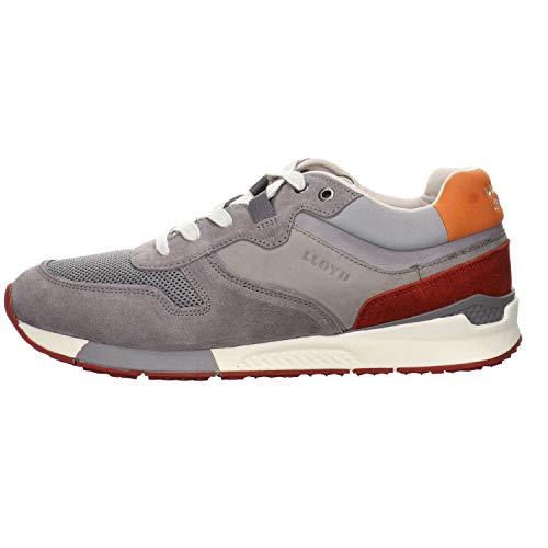 LLOYD Elmar - Zapatillas deportivas para hombre, color Gris, talla 43 EU