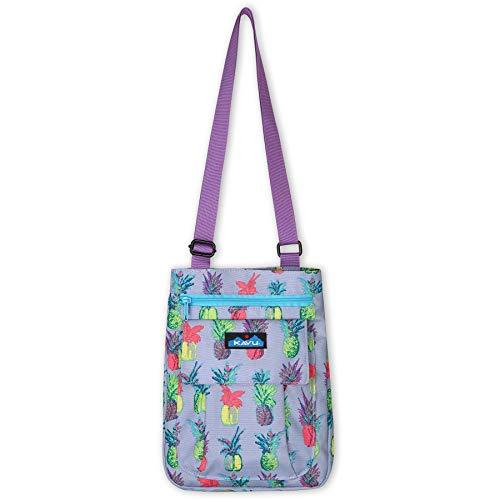 KAVU For Keeps Bag With Hip Crossbody Adjustable Purse Strap-Pineapple Pop