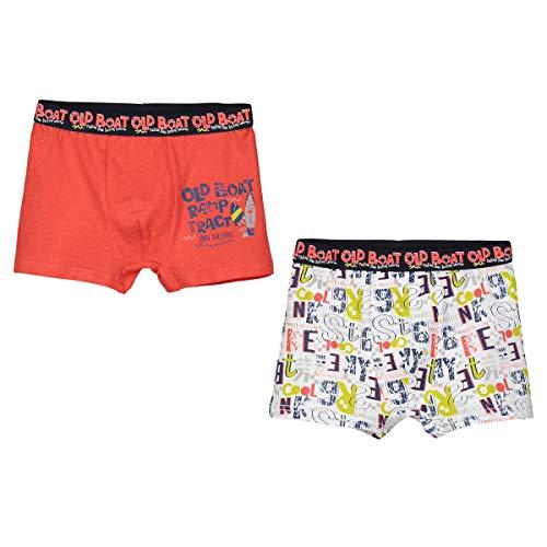 Petit Béguin - Lot de 2 boxers garçon Spot - Taille - 4/5 ans