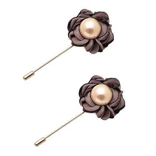 Broches épingle élégante Broches 2PCS broches de colliers de décoration pour dames