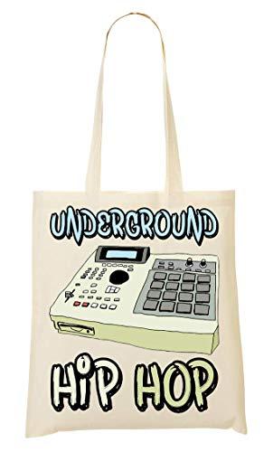 Underground Hip Hop Sampler Bolso De Mano Bolsa De La Compra