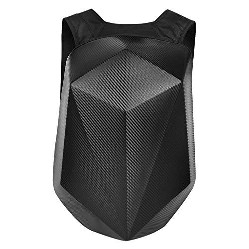 XinMeiMaoYi Mochila al aire libre para motocicleta, mochila de equitación para hombre, bolsa para casco de motocicleta, bolsa rígida, bolsa de fibra de carbono para exteriores (50 x 38 x 14 cm)