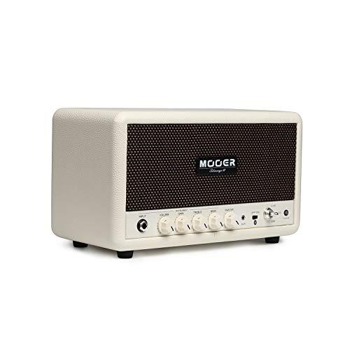 Muslady versterker basversterker hifi BT luidspreker MOOER SilverEye 10 Desktop Setero instrument gitaar 2 * 16W met volume/gain/treble/bas-regelaars 1/4 inch & 1/8 inch ingangsaansluitingen