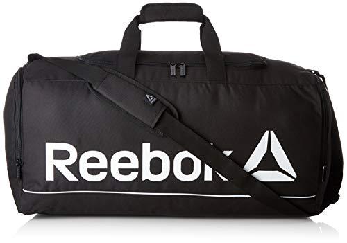Reebok Act Roy M Grip, Mochila Unisex Adulto, Negro (Negro), 24x15x45 cm (W x H x L)