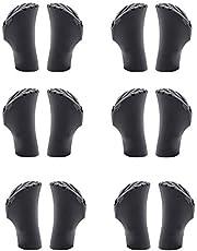 SUPERLETIC® Rubberen buffer Nordic Walking - [12 stuks] - accessoires voor wandelstokken I pads alleen voor SUPERLETIC Nordic Walking stokken I Nordic Walking buffer voor elk terrein