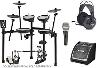Roland TD1MK Electronic Drum Set with Amplifier and Headphones