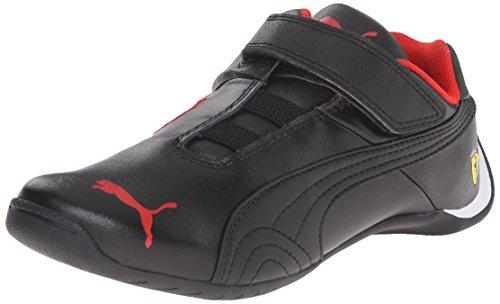 Puma Future Cat SF V Kids Sneaker (Toddler/Little Kid/Big Kid), Black/Black, 4 M US Toddler